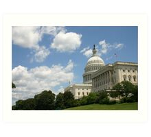 The Capital Building Art Print