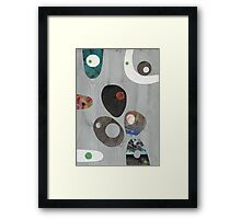 Cool Grey Framed Print