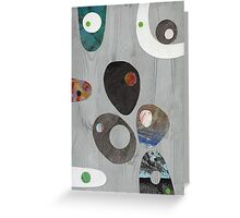 Cool Grey Greeting Card