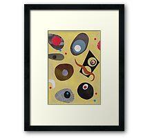 Funky Jive Framed Print