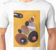 Pebbles On Yellow Unisex T-Shirt