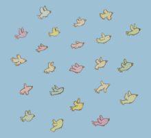 Flying Birdies Kids Tee