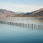 Early spring on Annecy lake by Patrick Morand