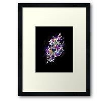 Shattered Space Dream Framed Print