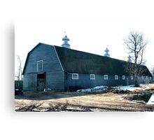 The Old Fashioned Grey Barn Canvas Print
