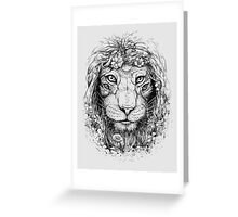 King of Nature Greeting Card