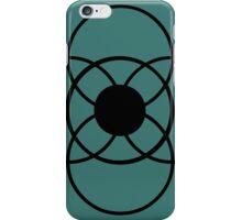 Simply Flower Crop Circle iPhone Case/Skin