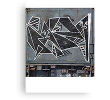 Angular Tag Canvas Print