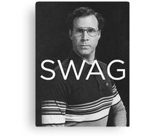Will Ferrell Swagger Canvas Print