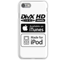 DivX HD for iPod iPhone Case/Skin