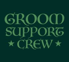 Groom Support CREW (in Medieval wedding script) by jazzydevil