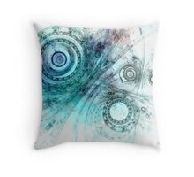 Psychedelic mind Throw Pillow