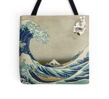 The Great Wave Off Katara Tote Bag