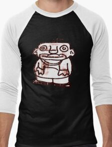 Stobie the aerosol art character Men's Baseball ¾ T-Shirt