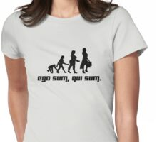 Ego sum, qui sum. 2 Womens Fitted T-Shirt
