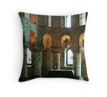 Norman Chapel of St John Tower of London 19790518 0026 Throw Pillow