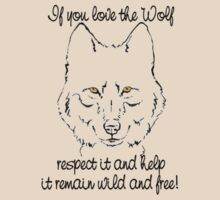 Respect the Wolf by Judith Hayes