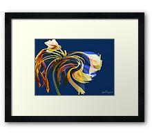FLEUR EN ROSE No3 Framed Print