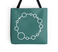 Bubbly Crop Circle Tote Bag
