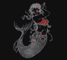 Mermaid Tattoo T-Shirt