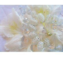 Beads and Azaleas Photographic Print