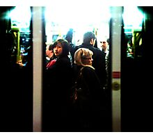 Friday Night Tram Photographic Print