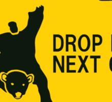 Drop Bear Sticker