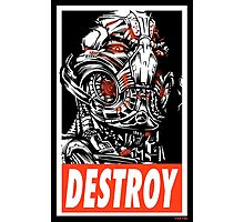 DESTROY Photographic Print