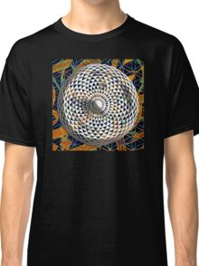 Flower of Life + Geometric Eye Classic T-Shirt
