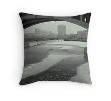 St Anthony Falls, Minneapolis, Minnesota - USA Throw Pillow