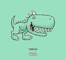 Tyrannotooth by furrrymonsters