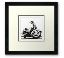 """Harley-Davidson Electra Glide Ultra Classic"" Framed Print"