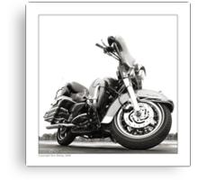 """Harley-Davidson Electra Glide Ultra Classic"" Canvas Print"