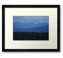 Ice Winds Framed Print