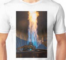 Hot air balloon gas burner and flame  Unisex T-Shirt