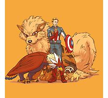 captain america pokemon Photographic Print