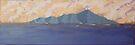 Kapiti Island sunset by Beverley  Johnston