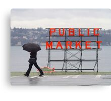 Typical Seatle Canvas Print