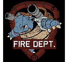 kanto fire departement Photographic Print