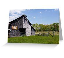 Royal Crown Barn 3 Clr Greeting Card