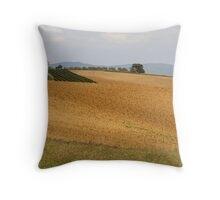 hilly landscape Throw Pillow