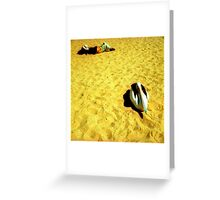 Monkey Mia Pelican Greeting Card
