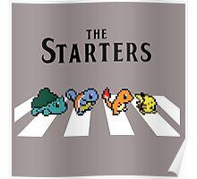 pokemon the starter Poster