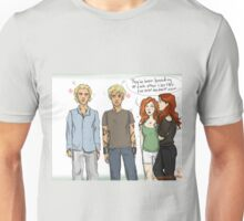 Movie Clace Meets Book Clace Unisex T-Shirt