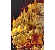 Massive cave dwarfs caver Photographic Print