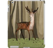 Deer in the Woods iPad Case/Skin