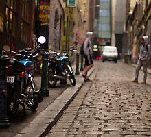 Which bike? by Norman Repacholi
