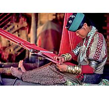 Weaving Photographic Print