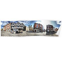 Lincoln Cathedral Panoramic 2 Poster
