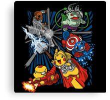 pokemon avengers Canvas Print